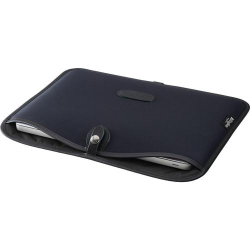 "Billingham Slip Case for 13"" Laptop (Black Canvas & Leather Trim)"