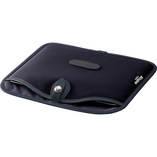 Billingham Tablet Slip Case (Black Canvas & Leather Trim)