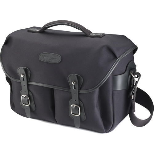 Billingham Hadley One Camera Bag (Black FibreNyte with Black Leather)