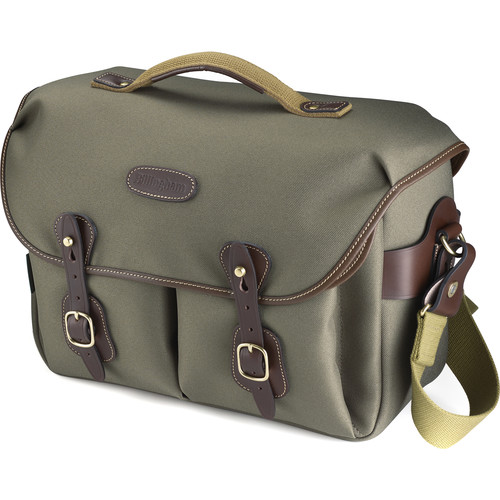 Billingham Hadley One Camera Bag (Sage FibreNyte with Chocolate Leather)