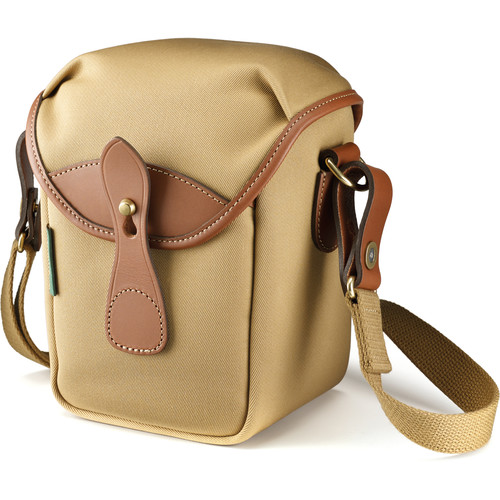 Billingham 72 Small Camera Bag (Khaki Canvas/Tan Leather)