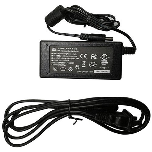 BirdDog 12VDC 2A Power Adapter for P100 and P200 Cameras