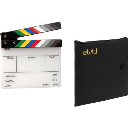 "Birns & Sawyer 4 x 5"" Acrylic Dry Erase Production Slate with Soft Case Kit"