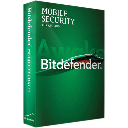 Bitdefender Mobile Security for Android (1-User, 1-Year License, Download)