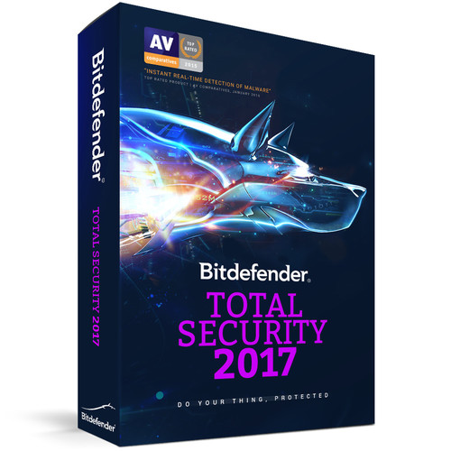 Bitdefender Total Security 2017 (10 Users, 1-Year License, Download)