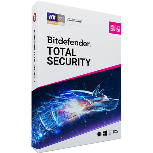 Bitdefender Total Security 2019 (10 Devices, 2 Years)
