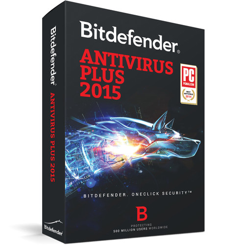 Bitdefender Antivirus Plus 2015 (1-User License, 1-PC, 1-Year, Download)