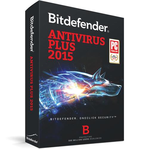 Bitdefender Antivirus Plus 2015 (3-User License, up to 3-PC, 1-Year, Download)