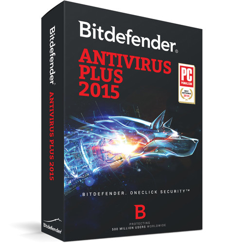 Bitdefender Antivirus Plus 2015 (3-User License, up to 3-PC, 2-Year, Download)