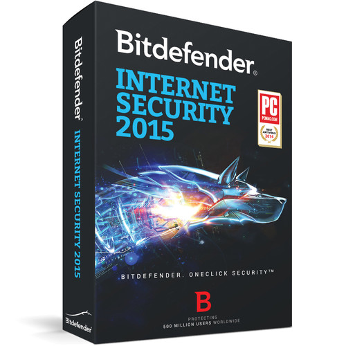 Bitdefender Internet Security 2015 (3-User License, up to 3-PC, 2-Year , Download)