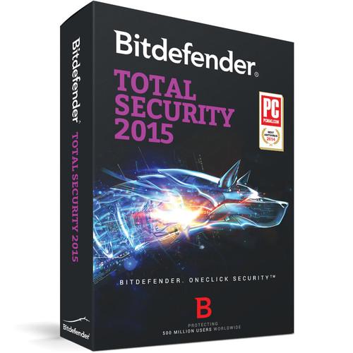 Bitdefender Total Security 2015 (1-User License, 1-Year, Download)
