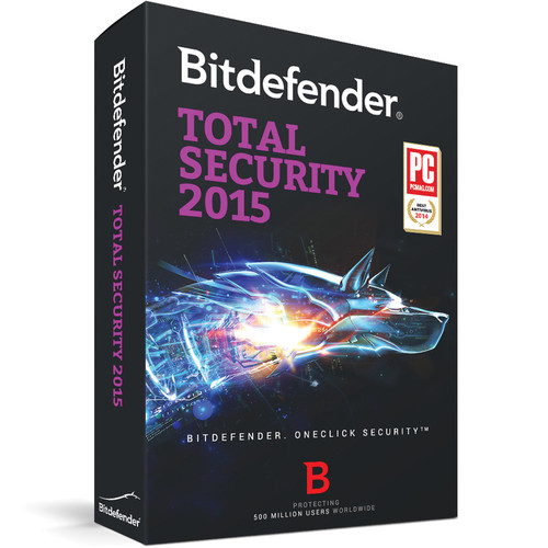Bitdefender Total Security 2015 (3-User License, 3-PC, 1-Year, Download)