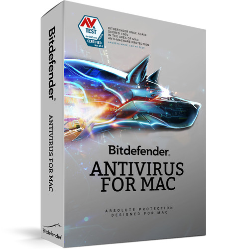 Bitdefender Antivirus for Mac (3 Users, 1-Year License, Download)