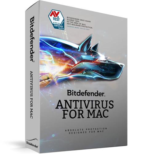 Bitdefender Antivirus for Mac (1 Users, 2-Year License, Download)