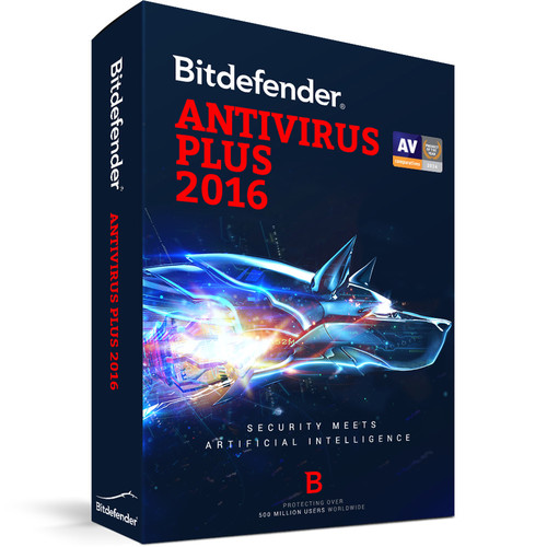 Bitdefender Antivirus Plus 2016 (1-User License, 1 Year, Download)