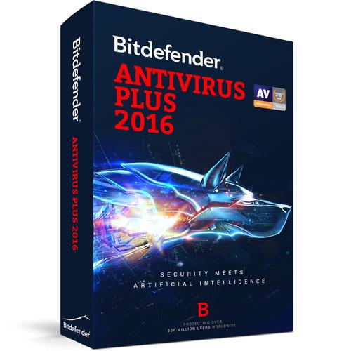 Bitdefender Antivirus Plus 2016 (3-User License, 1 Year, Download)