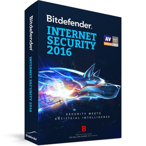 Bitdefender Internet Security 2016 (1-User License, 1 Year, Download)