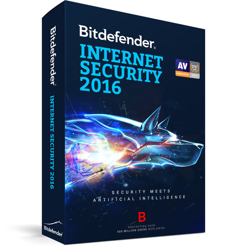Bitdefender Internet Security 2016 (3-User License, 1 Year, Download)