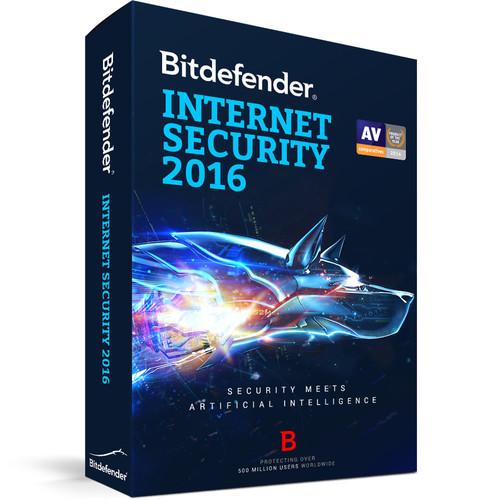 Bitdefender Internet Security 2016 (10-User License, 2 Years, Download)