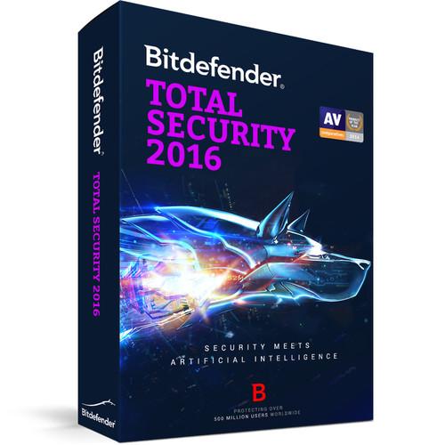Bitdefender Total Security 2016 (10 User-User License, 2 Years, Download)