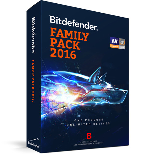 Bitdefender Family Pack 2016 (1 Year, Download)