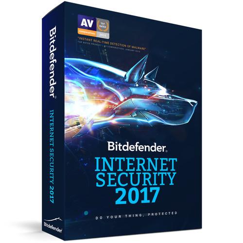 Bitdefender Internet Security 2017 (3 Users, 1-Year License, Download)