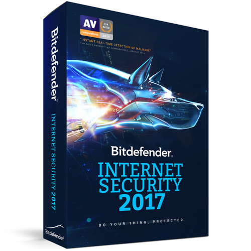 Bitdefender Internet Security 2017 (3 Users, 3-Year License, Download)