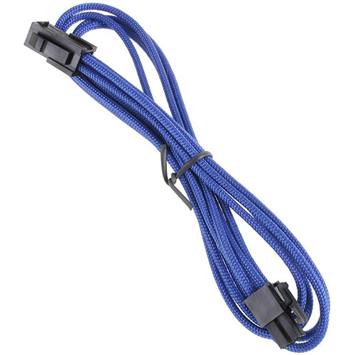 "BitFenix Alchemy ATX Extension Cable (17.7"", Blue Sleeve/Black Connectors)"