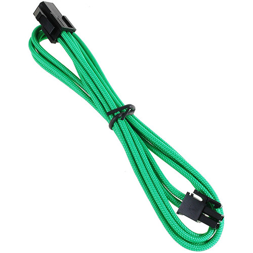 "BitFenix Alchemy ATX Extension Cable (17.7"", Green Sleeve/Black Connectors)"