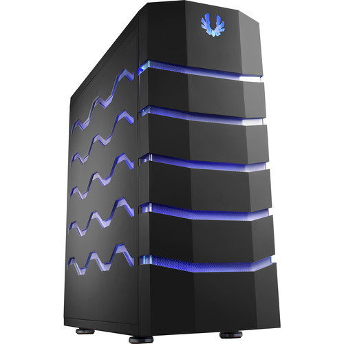 BitFenix Colossus Full Tower Desktop Case (Blue & Red LEDs, Black)