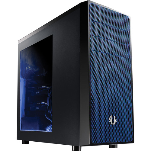 BitFenix Neos Mid-Tower Case (Window, Black/Blue)