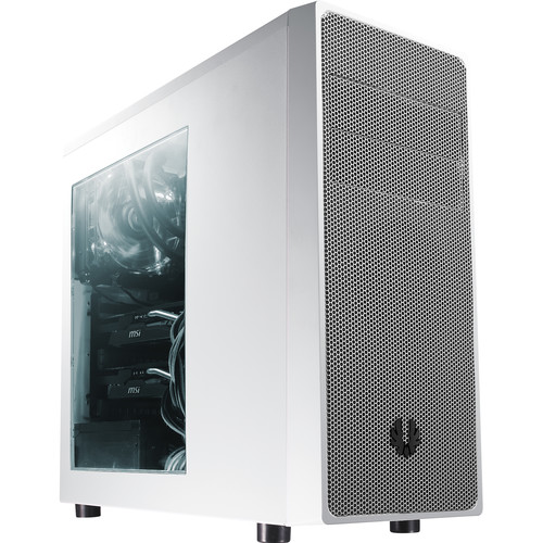 BitFenix Neos Mid-Tower Case (Window, White/Silver)