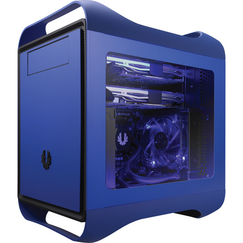 BitFenix Prodigy M Color Chassis with Window (Cobalt Blue)