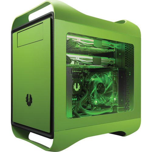 BitFenix Prodigy M Color Chassis with Window (Vivid Green)