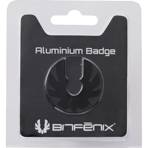 BitFenix Aluminum Badge (Black)