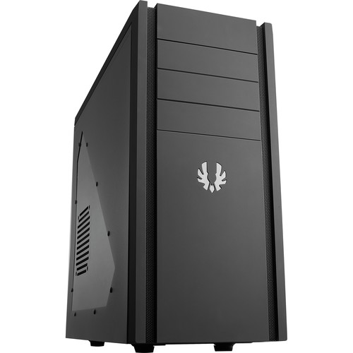BitFenix Shinobi Mid-Tower Case (Black with Black Mesh, Window)