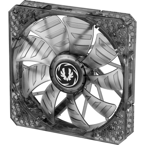 BitFenix Spectre Pro 140mm LED Case Fan (White LEDs, Black Frame)