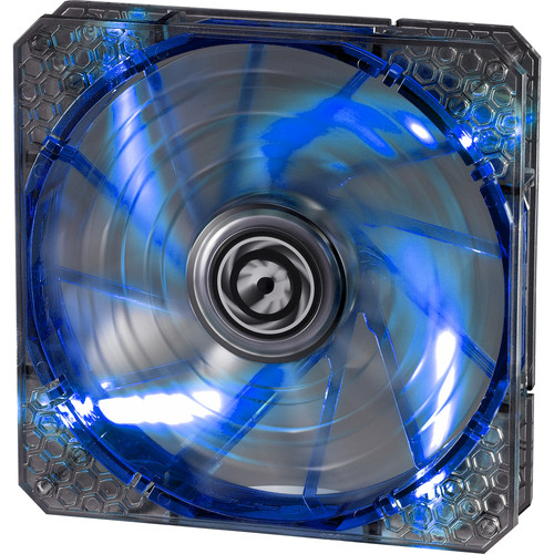 BitFenix Spectre Pro 140mm LED Case Fan (Blue LEDs, White Frame)
