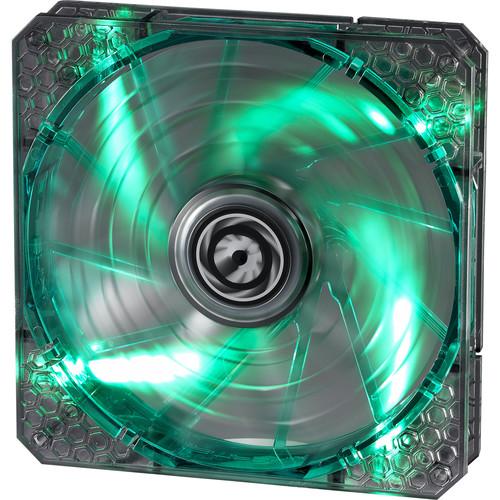BitFenix Spectre Pro 140mm LED Case Fan (Green LEDs, White Frame)