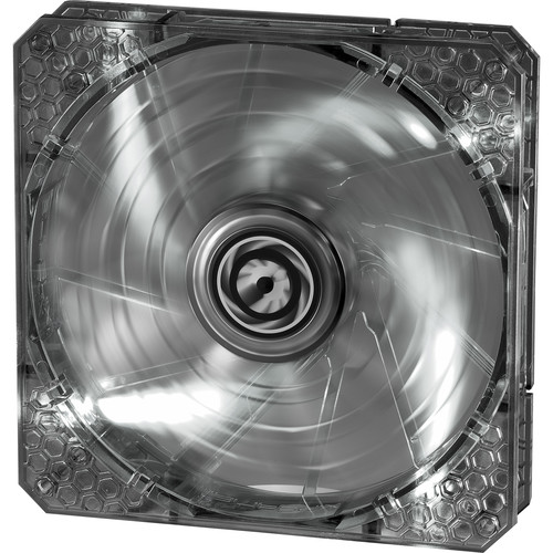 BitFenix Spectre Pro 140mm LED Case Fan (White LEDs, White Frame)