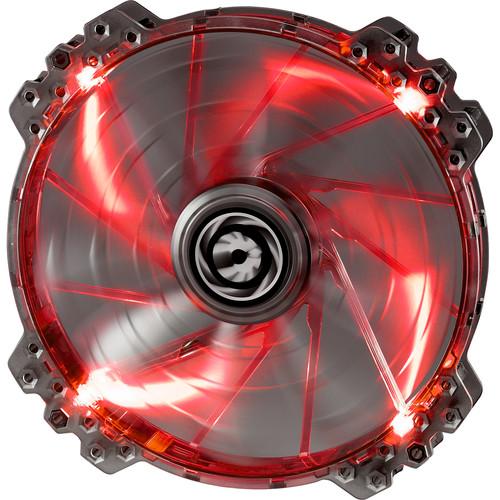 BitFenix Spectre Pro 200mm LED Case Fan (Red LEDs, White Frame)