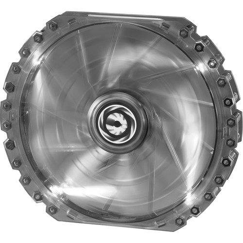BitFenix Spectre Pro 230mm LED Case Fan (White LEDs, White Frame)