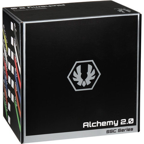 BitFenix SSC-Series Alchemy 2.0 Modular Multi-Sleeved Cable Kit (Black)