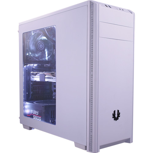 BitFenix NOVA Mid-Tower Chassis (White, Window)