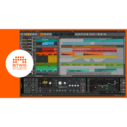 Bitwig Studio 4 Music Production and Performance Software (Upgrade Plan,Download)