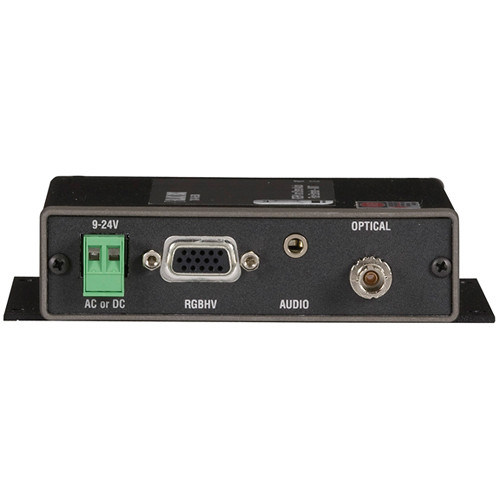 Black Box AC1021A-XMIT Multimedia (VGA/Audio) over Fiber Extender Local Unit without Local Access