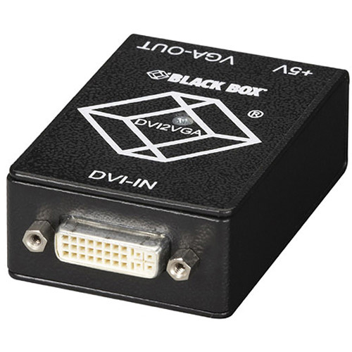 Black Box DVI-D to VGA Converter