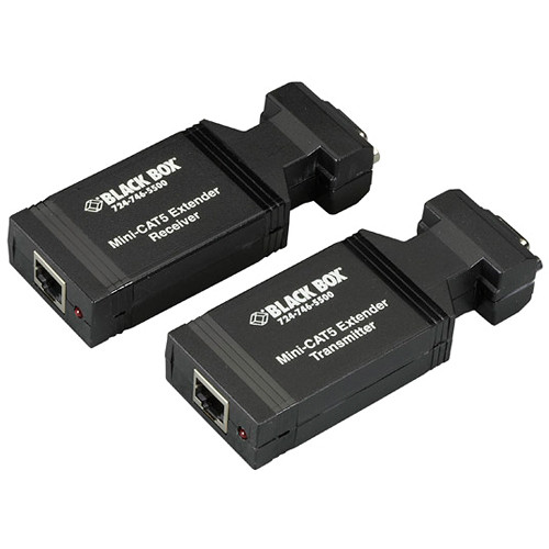 Black Box Mini CAT5 VGA & Component Extender Kit