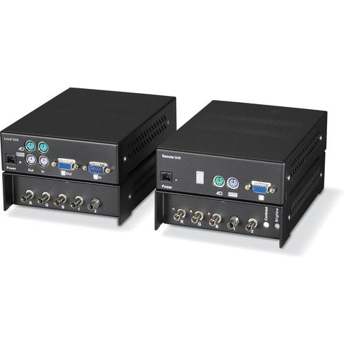 Black Box ACS335A ServSwitch KVM (VGA/PS/2) over Fiber Dual-Access Extender Kit