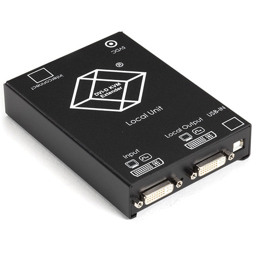 Black Box ACS4001A-R2-T ServSwitch KVM (DVI/USB) over CATx Extender Local Unit with DVI Output